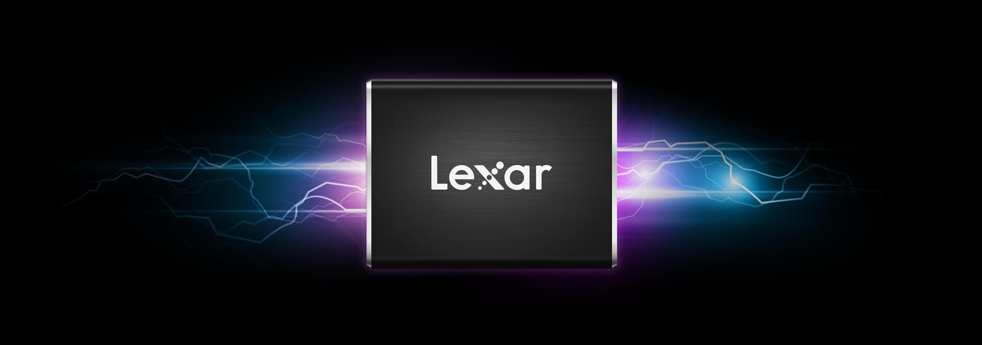 Lexar® Professional SL100 Pro External Portable SSD 7